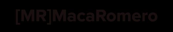 Logo Maca Romero Community Manager